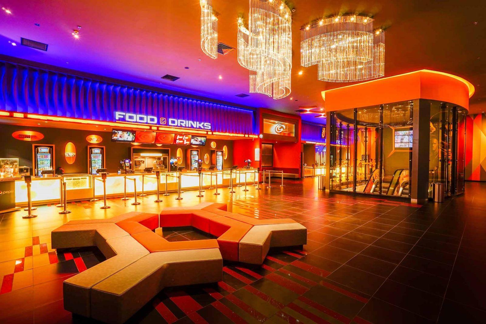 Công trình: Cụm rạp chiếu phim Galaxy tại TP. Hồ Chí Minh
